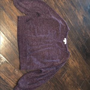 Band of Gypsies Sweaters - burgundy stylish sweater